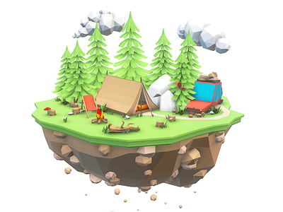 Sky Camping Concept