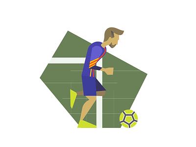 Messi sport football messi animation