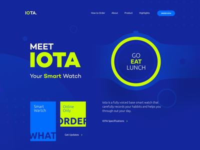 IOTA. Smart Watch
