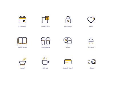POD Icons web illustration app ui ux flat minimalistic branding logo blue orange iconography icon