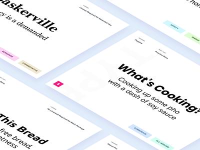 Matching Fonts landing web design white branding minimalistic giveaway free tutorials minimal clean tutorial typography type