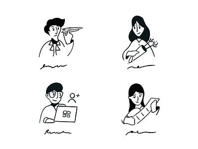 Drawing Practice design illustration art illustration app white clean branding minimalistic ux ui