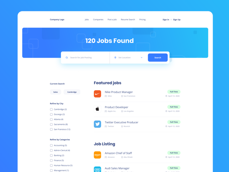 Job Search Platform