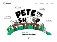 Pete, The Sheep.