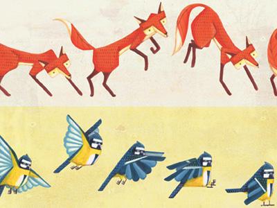 Animals in motion 1
