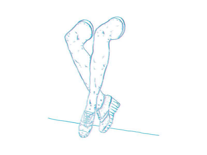 Where's My Body moleskine sketch vector handraw illustrator drawing illustration