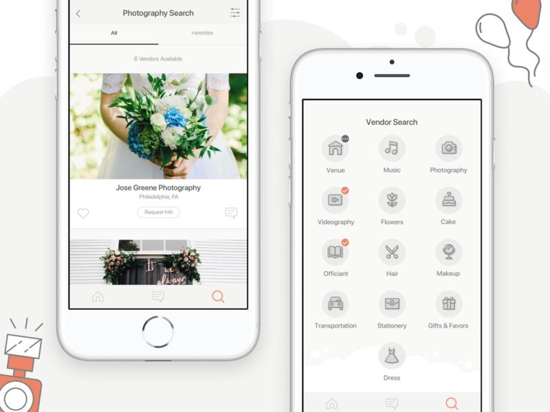 Wedding Planner App.Planestry Wedding Planner Ios Mobile App By Anoda Mobile Development