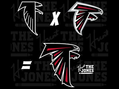 Falcons New Logo Progression Concept
