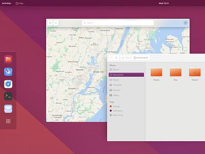 Ubuntu Gnome Concept gui canonical ubuntu gnome unity linux