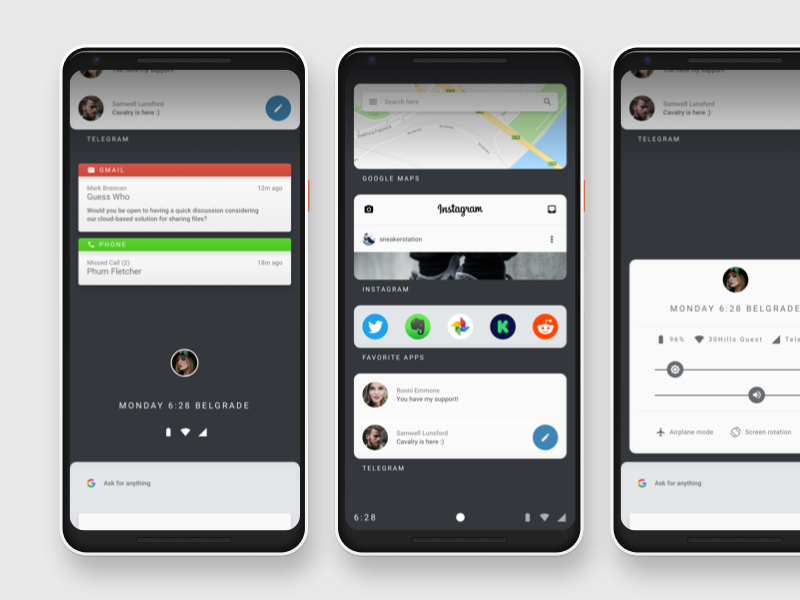 Fuschia OS Mockup armadillo pixelbook pixel android fuschiaos google