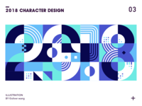 2018 Character design