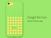 Iphone 5C case redesigned