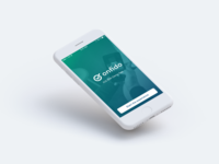 Splash screen for Onfido Demo App