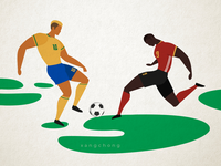 Brasil vs Belgium 2018