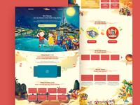 Vincom Mid Autumn Festival 2018 Landing page