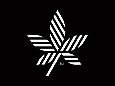 Herbal modernism herbal vintage modern geometry mark symbol logo