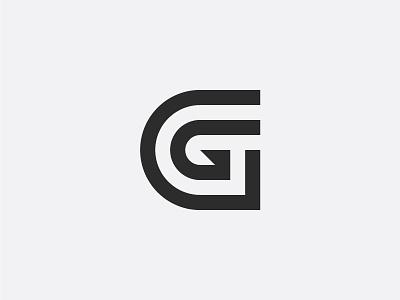 Letter G modern g symbol logo mark