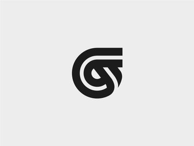 Ribbons Letter G2 ribbons logo symbol mark letter