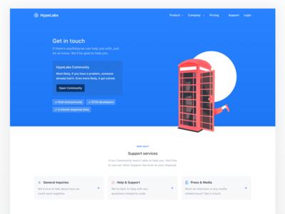 HypeLabs  — Contact us