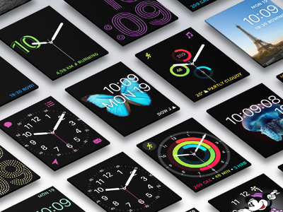 WatchOS Face System face system design watch apple watchos