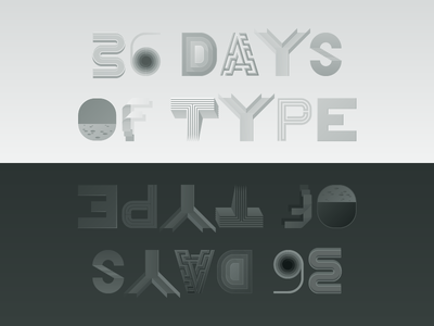 36 Days of Type lettering black and white story illustration type typography
