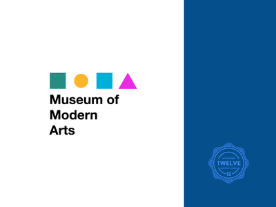Logolounge 12 museum of art badge of honor logolounge geometric vector design illustrator cc abstract symbol logotype museum logo