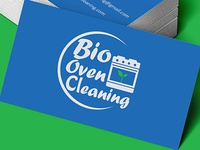 Bio Oven Cleaning Card / Logo Design