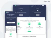 Landing Page Design - #003
