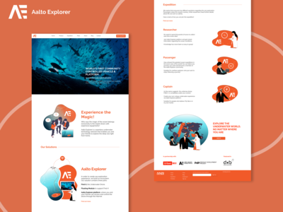 Aalto Explorer Website Design