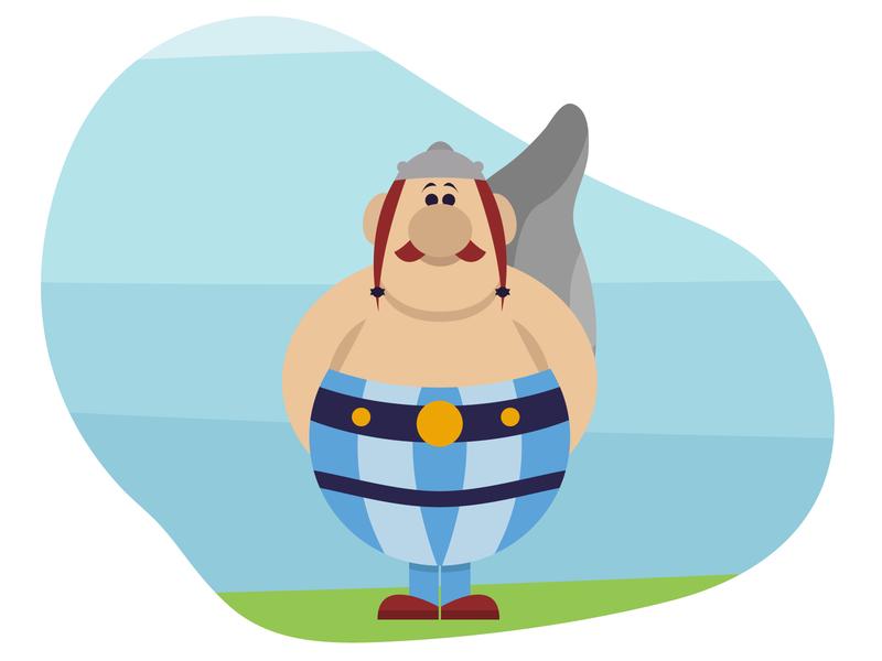 Flat Obelix