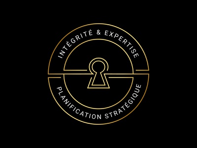 Mortgage Logo black gold lock key designer design branding vector logo