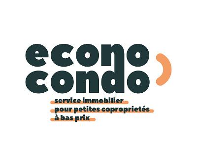 Econo Condo typography typo designer design branding vector logo