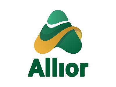 Allior typography typo designer design branding vector logo