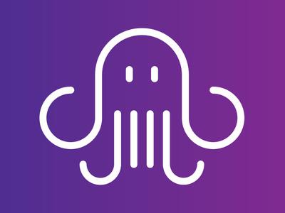 Octopus logo vector design illustration octopus branding logo