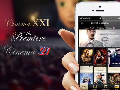 21cineplex 1st gen mobile apps cinema