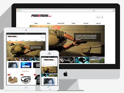Pridextreme ecommerce online store