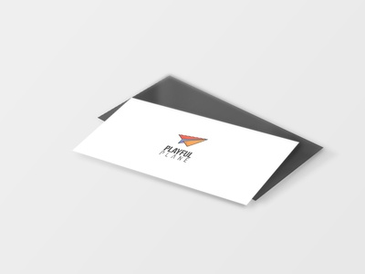 Business Card Playful Plane