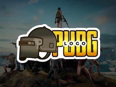 PUBG Logo + Mockup