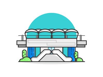 Mass Rapid Transit Station