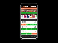 Sportsbetting on Iphone X - The Floating Footer