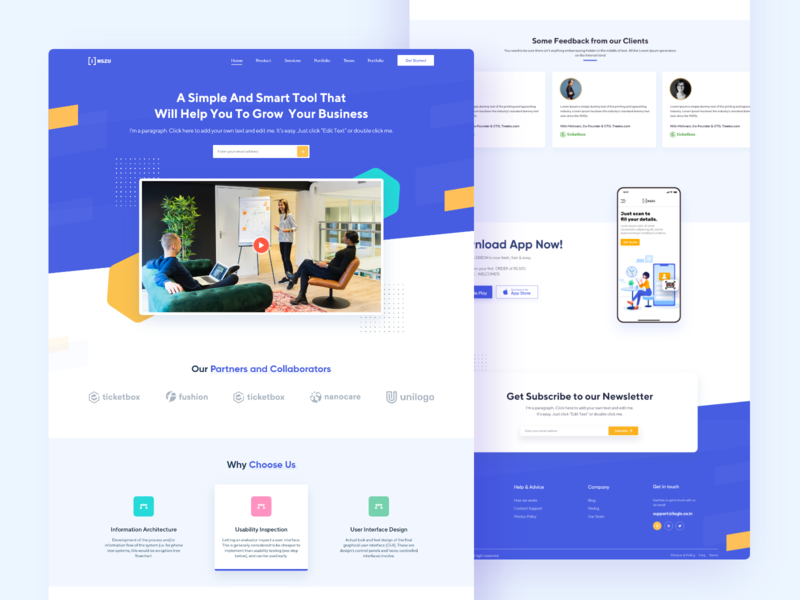 Business - Landing Page