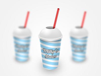 Milky's Shakes milkshake milk milky