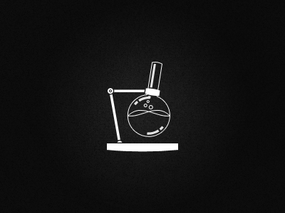 Chemistry icon florence flask for fun