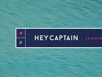 HeyCaptain navigation