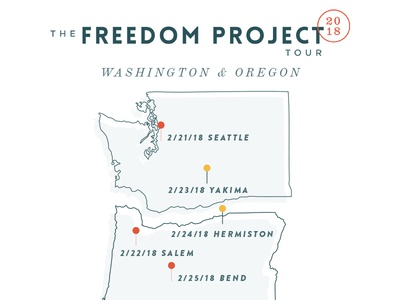 Freedom Project West Coast Tour