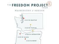 Freedom Project West Coast Tour