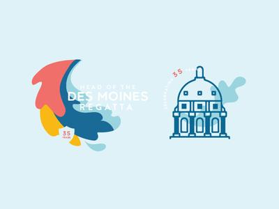 Des Moines Regatta branding