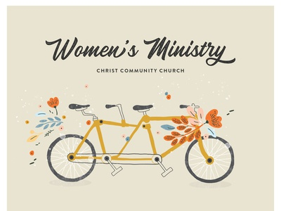 Women's Ministry take home card
