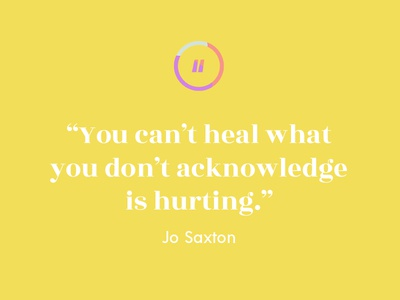 Jo Saxton quote