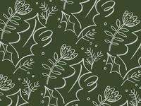 Christmas card pattern